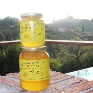 Vasetti di miele Millefiori